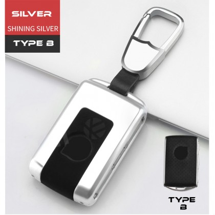 VOLVO PREMIUM DESIGN TYPE B Car Key Holder Key Pouch Key Shell Key Remote Case Key fob Key Cover Key Bag Key Chain Accessories XC90 XC60 XC40 V60 V90 S90