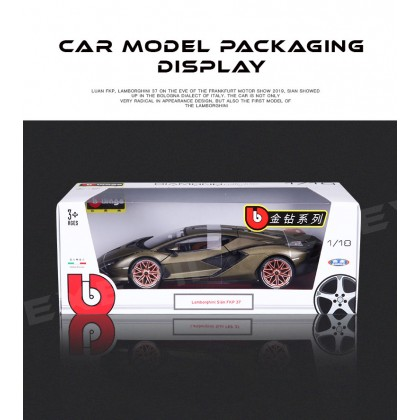 1:18 LAMBORGHINI Sian FKP37 Super Car Alloy Model COLLECTION Diecast Cars  Gift Vehicle for Boy Girl