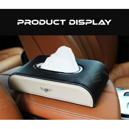 BENTLEY Bentayga Mulsanne Flying Spur Continental GT Car Tissue Holder Case Paper Napkin Box Napkin Men Woman daily travel home room use