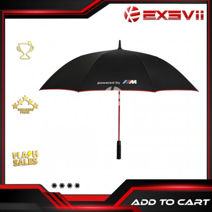 BMW M Performance High Quality Full Fibre Advanced Big Umbrella men woman sun rain windproof windy wind resistant uv daily travel use