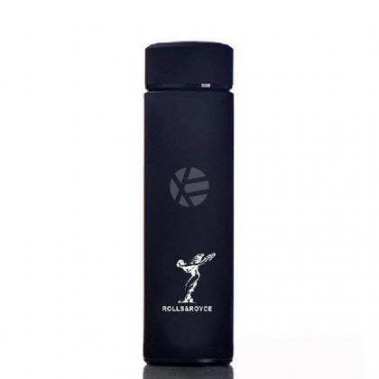 Rolls Royce Black 304 Stainless Steel Coffee Hot Cold Tea Soup Thermos Thermal Tumbler 500ML Water Flask Bottle Container Men Woman summer winter Travel daily use
