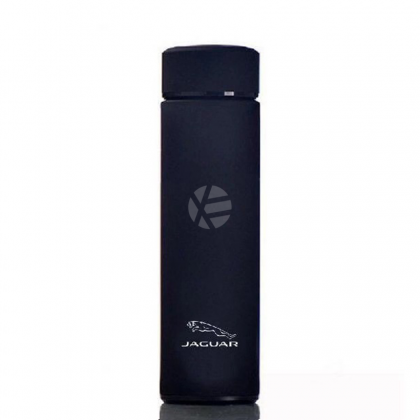 Jaguar Black 304 Stainless Steel Coffee Hot Cold Tea Soup Thermos Thermal Tumbler 500ML Water Flask Bottle Container Men Woman summer winter Travel daily use