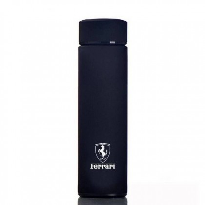 Ferrari  Black 304 Stainless Steel Coffee Hot Cold Tea Soup Thermos Thermal Tumbler 500ML Water Flask Bottle Container