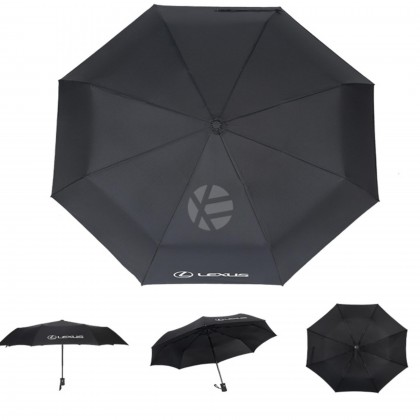 Lexus High Quality Full Foldable Fibre Advanced Umbrella men woman sun rain windproof windy wind resistant uv daily travel use