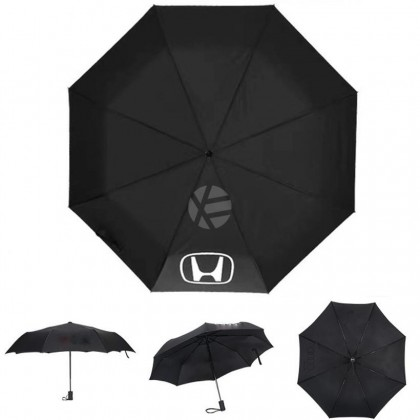 Honda High Quality Full Foldable Fibre Advanced Umbrella men woman sun rain windproof windy wind resistant uv daily travel use