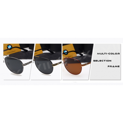 BMW Super Sport Anti UV400 Polarized Sunglasses Driving Anti-UV Frog Mirror Men Woman Summer daily use